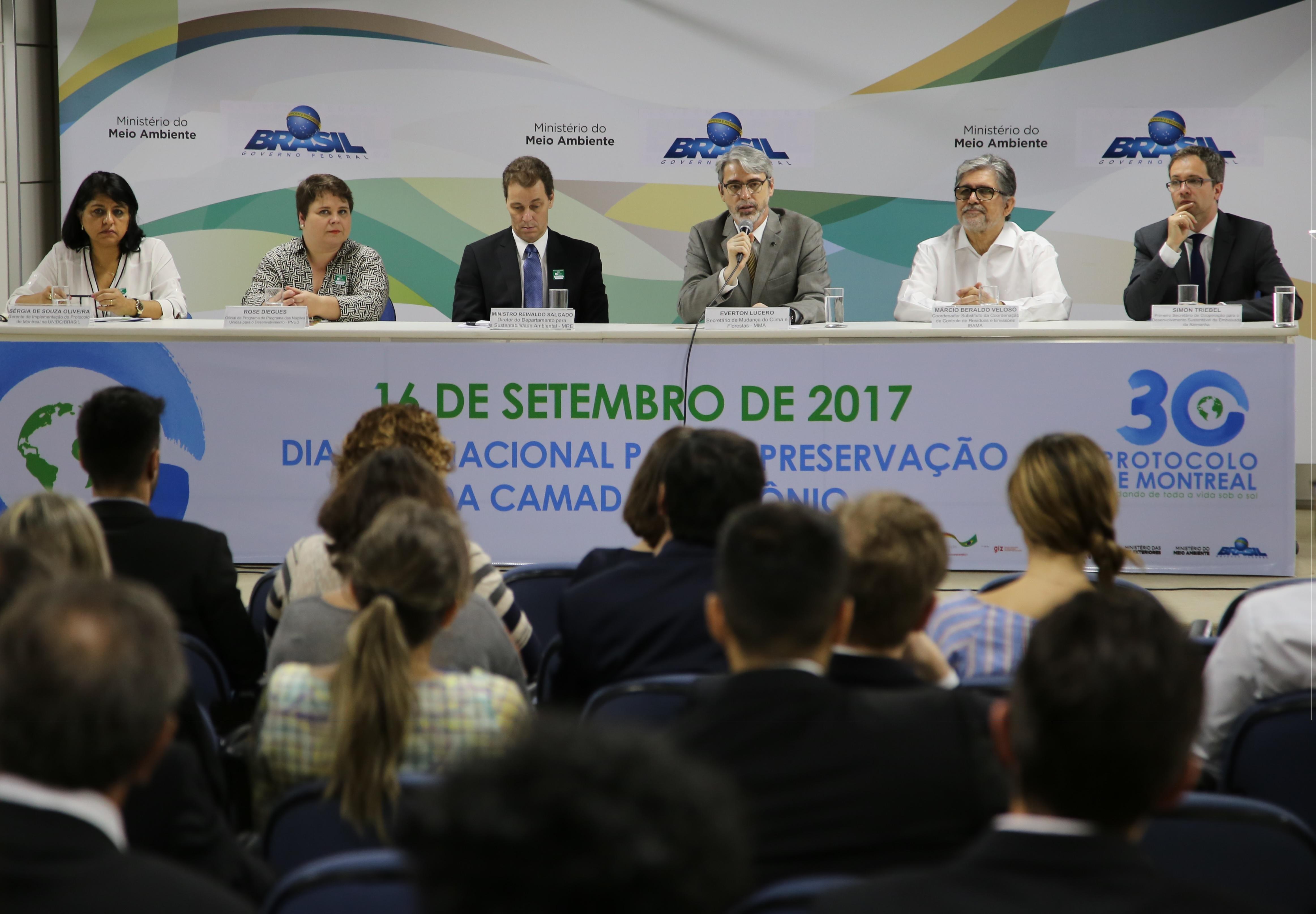 Cerimônia em Brasília celebra 30 anos do Protocolo de Montreal
