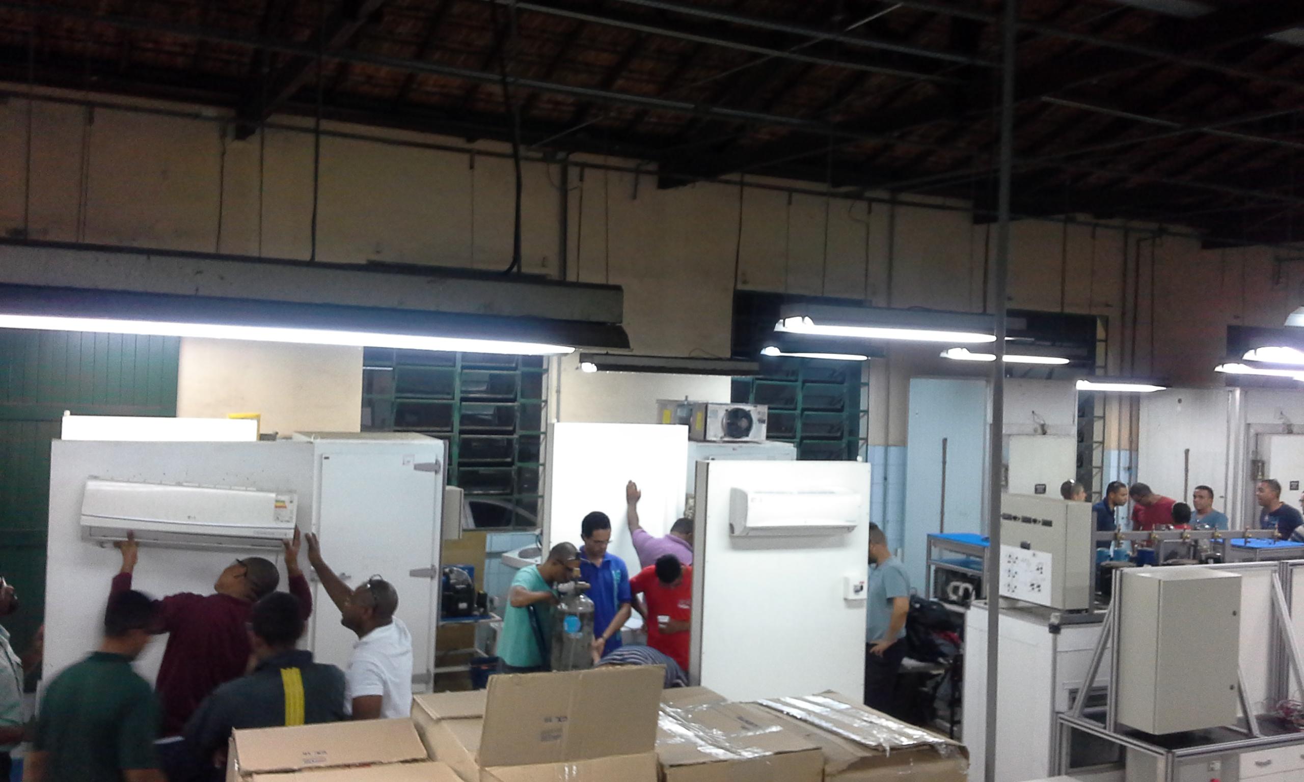 Curso piloto para capacitação de técnicos em Sistemas de Ar Condicionado do tipo Split foi realizado em Minas Gerais com sucesso