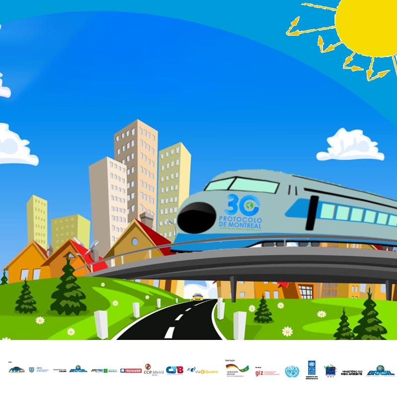 Brasil lança campanha nacional de conscientização sobre a Camada de Ozônio em parceria com trens e metrôs