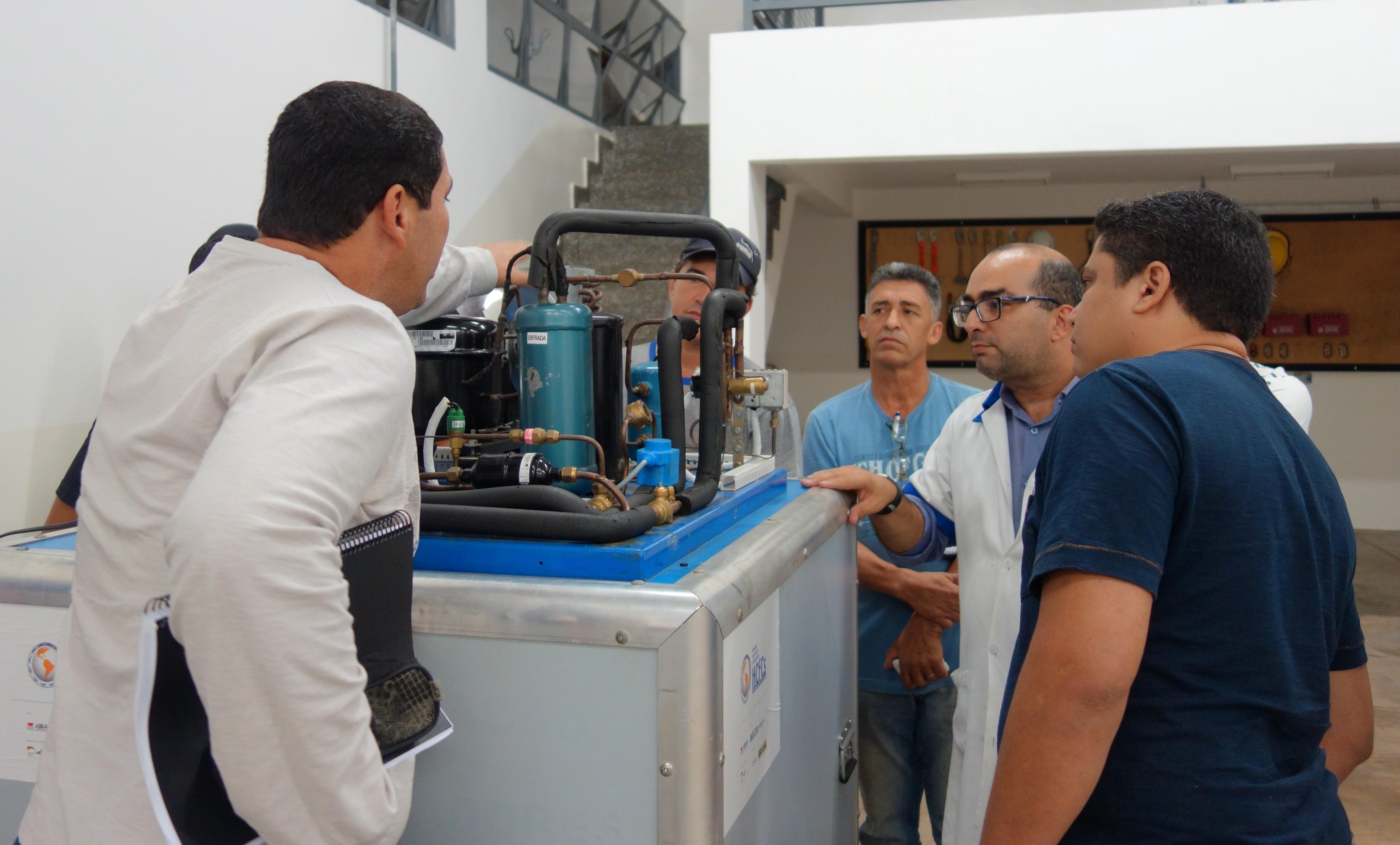 Abertas inscrições para Cursos de Boas Práticas em Refrigeração Comercial em Mato Grosso, Tocantins e Distrito Federal